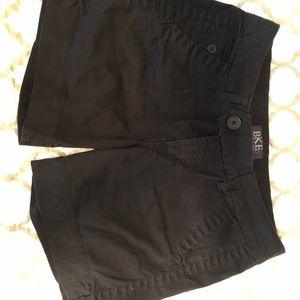 Black BKE shorts